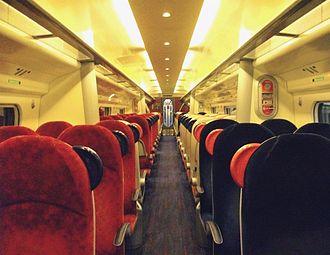 Virgin Trains - Standard Class aboard a Class 390 Pendolino