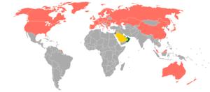 Visa policy of Saudi Arabia - Visa policy of Saudi Arabia
