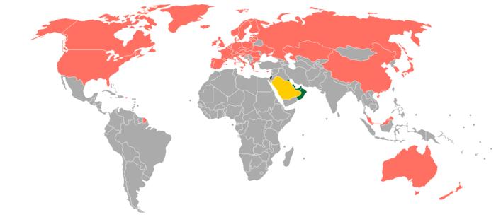 Visa policy of Saudi Arabia - Wikipedia
