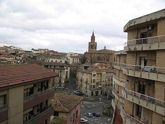 Barbastro - Image: Vista Barbastro Catedral (Huesca)