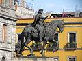 Vista de la Estatua Ecuestre de Carlos IV (El Caballito) de Tolsá (CDMX) 1.JPG