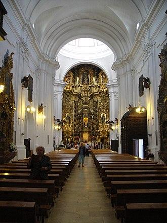 San Juan y Todos los Santos - Image: Vista general de la iglesia de la Trinidad de Córdoba