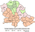 Vojvodina ethnic2011 hungarians.png