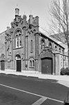voorgevel en rechter zijgevel van de synagoge te tilburg - tilburg - 20347356 - rce