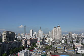 Wenzhou - City view of Wenzhou