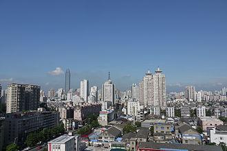 Wenzhou - City view of Wenzhou