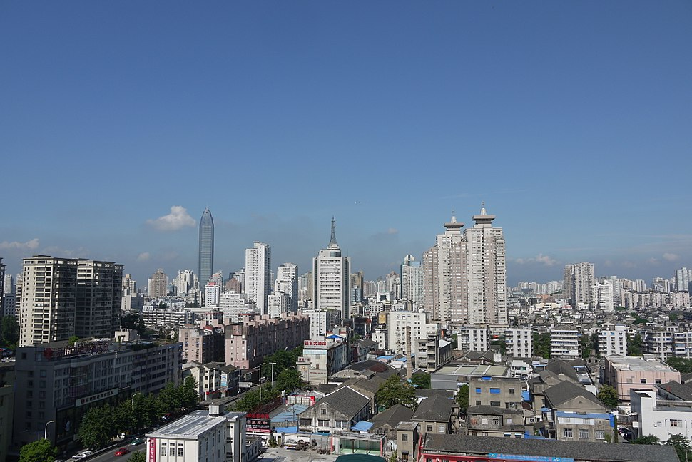 City view of Wenzhou