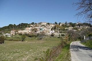 La Roque-sur-Pernes Commune in Provence-Alpes-Côte dAzur, France