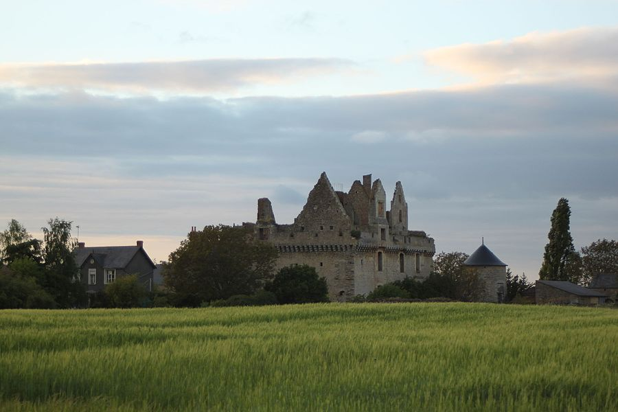 Château du Grand-Rioux, Fr-49-Tigné.