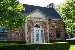 W1AW -  A 2003 image of the W1AW building located in Newington, Connecticut, USA.