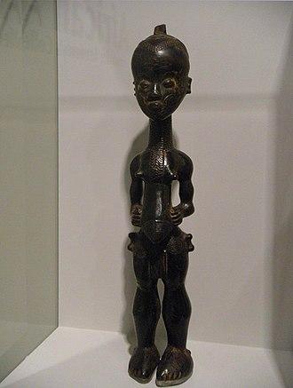 Lulua people - Image: WLA haa Female Figure Bena Lulua people