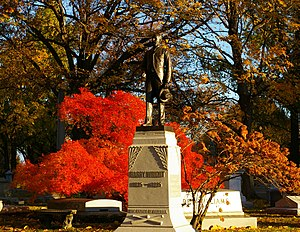 West Laurel Hill Cemetery - Cemetery in the Fall