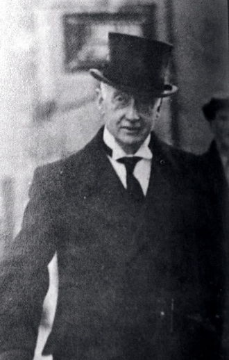 Ministers and Secretaries Acts - W. T. Cosgrave, whose government drafted the principal act