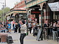 WTF Marlene Oostryck Fremantle Markets busker with straight jacket.jpg