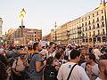 WYD 2011 Madrid Demonstration.jpg