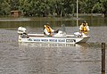 Wagga Wagga Rescue Squad on the flooded Wilks Park on the North Wagga flats.jpg