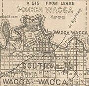 Wagga Wagga map 1897