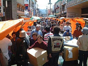 Wajima, Ishikawa - The market in Wajima