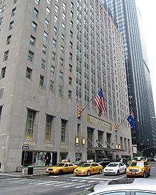 Waldorf Astoria Park Avenue Facade