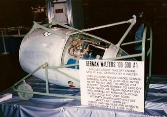 Walter HWK 109-500 - Walter 109-500 on display