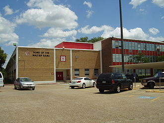 Waltrip High School - Image: Waltrip HS Houston