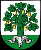 Das Wappen von Bergen