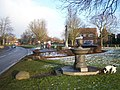 War Memorial and Water Fountain on Green - geograph.org.uk - 1119526.jpg