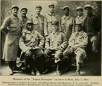 Victor Chapman - Chapman is in the center in the back row.