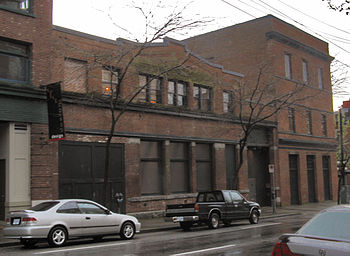 The Warehouse Studio in Vancouver's Gastown.