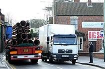 tung godstrafikk i Westbury