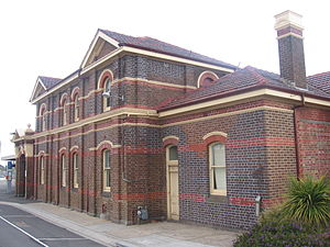 Warrnambool railway station - Station front in September 2008