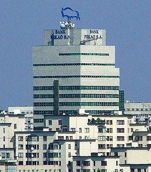 Bank Pekao - Image: Warszawa Bank Pekao SA (1)