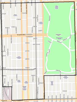 map of albany with Washington Park  Chicago   Munity Area on 14067470964 also 02emdfig1 besides 11846766666 besides 9103171801 further File Connecticut Route 85 Map.