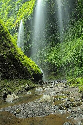 Bromo Tengger Semeru National Park - Madakaripura Waterfall in the National Park