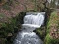 Waterfall in Woodhey Valley - geograph.org.uk - 310625.jpg