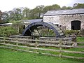 Waterwheel - disused - at Corless Mill - geograph.org.uk - 811610.jpg