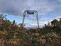 Way down the mountain njulla in Abisko, Sweden.jpg