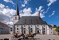 Weimar Herderplatz Stadtkirche Herderdenkmal.jpg