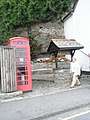 Well approaching the Lynmouth Memorial Hall - geograph.org.uk - 939702.jpg