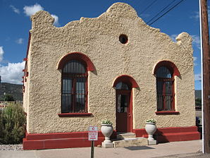 Wells Fargo Express Company building, Raton, New Mexico.jpg