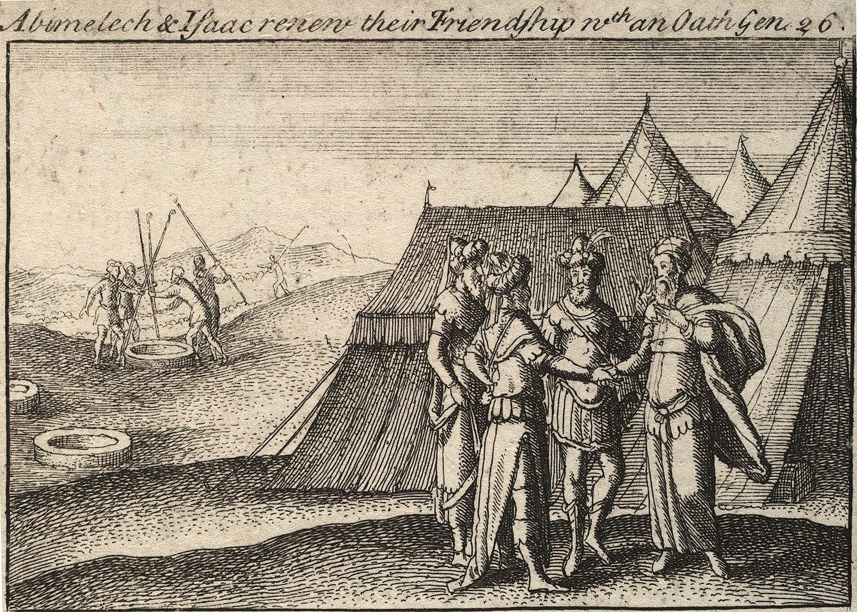 Abimelec (rey de Gerar con Isaac) - Wikipedia, la