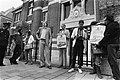 Werkgroep Schrijvers tegen apartheid Boycot Outspan Aktie demonstreren Zuid Af, Bestanddeelnr 930-8844.jpg