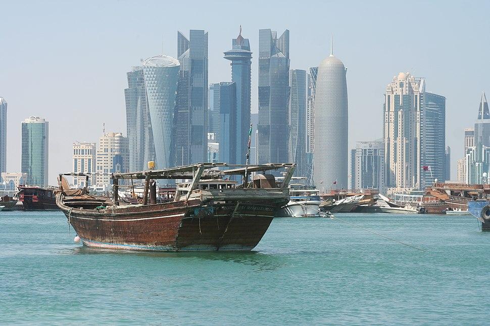 West Bay Skyline, Doha, State of Qatar