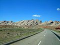West I-70 through Utah approaching the San Rafael Reef.jpg