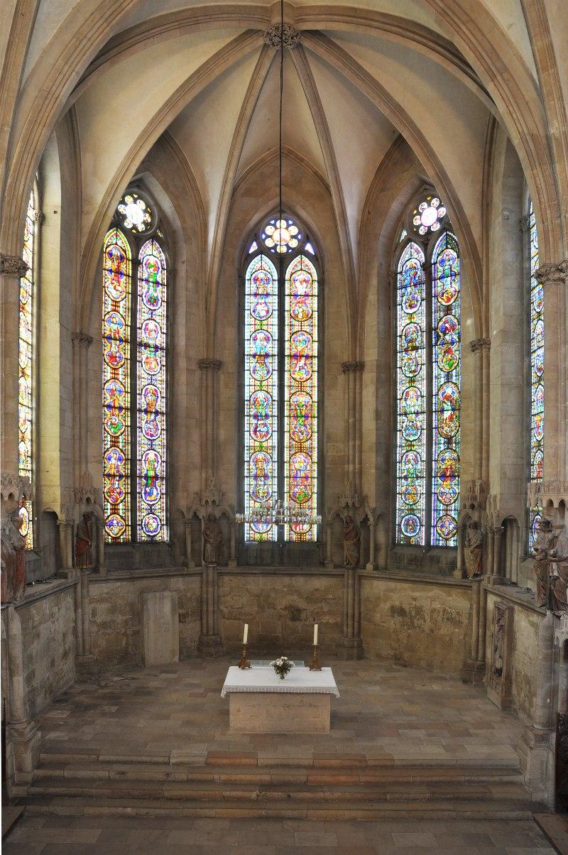 West choir Naumburg