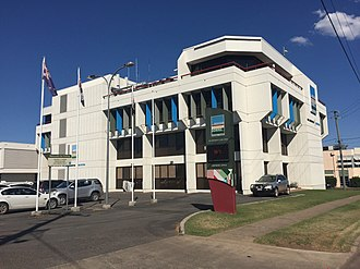 Western Downs Region - The current corporate office for the Western Downs Regional Council
