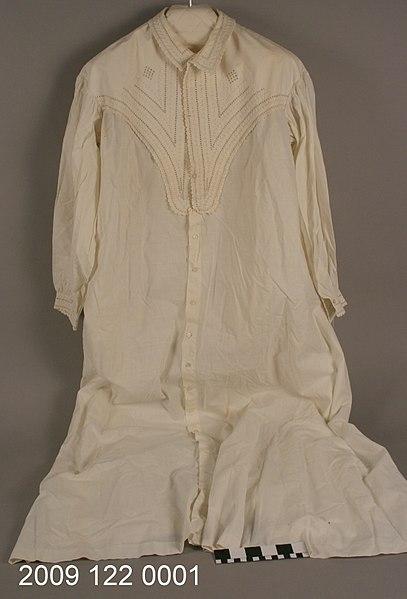 File:White Cotton Nightgown.jpg