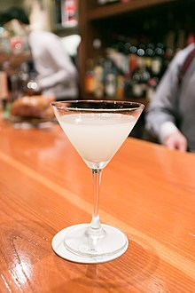 White Lady - Beefeater gin, Cointreau, fresh lemon juice (12403540403).jpg