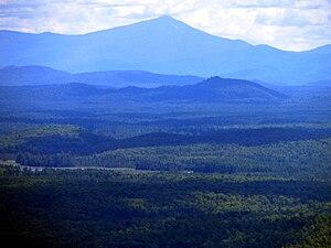 Azure Mountain - Image: Whiteface Mountain from Azure Mountain