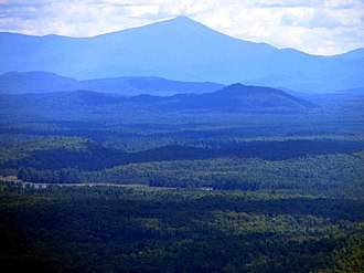 Azure Mountain - Image: Whiteface Mountain from Azure Mountain